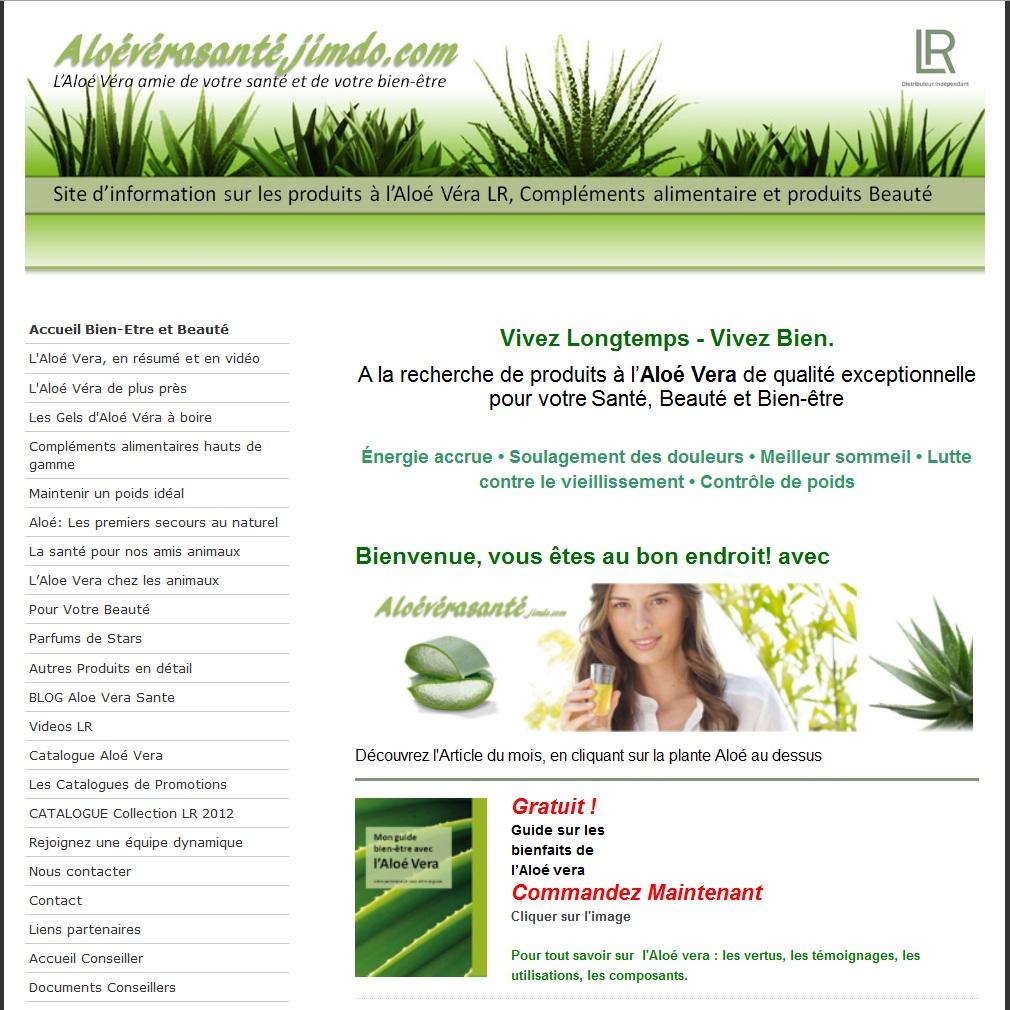 Assez Aloe Vera Sante bio Aloeverasante distribue des produits à l'aloes  AK07